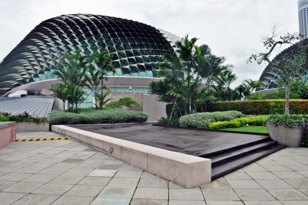 Menikmati Taman Piknik Singapura